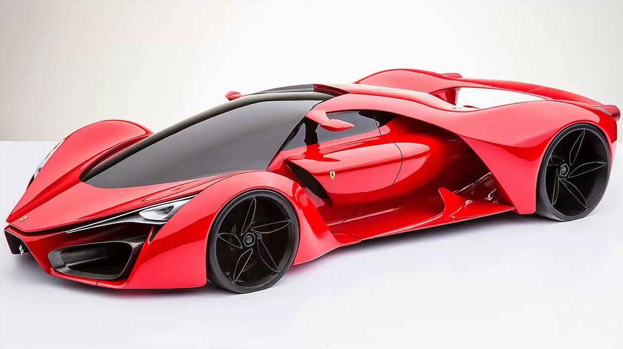 Ferrari F80 Concept The Car Spotter Blog The Car Spotter Blog