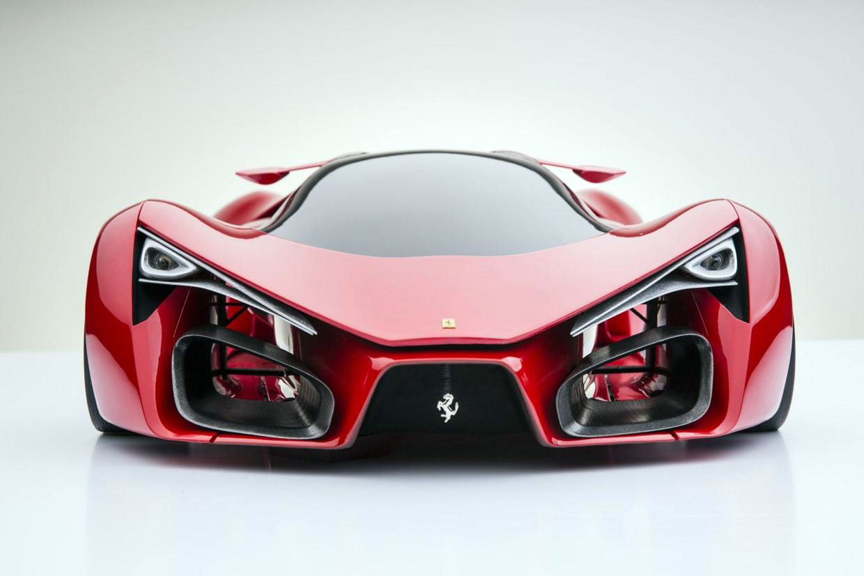 Ferrari F80 Concept The Car Spotter Blog The Car Spotter