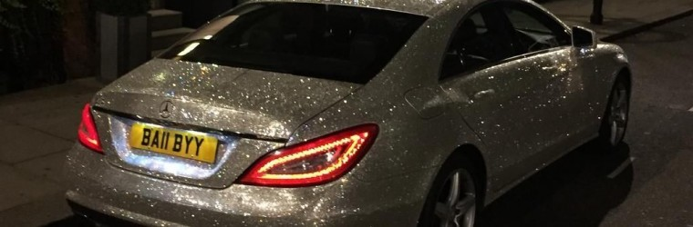 002701904489 Swarovski Crystal Mercedes CLS 350