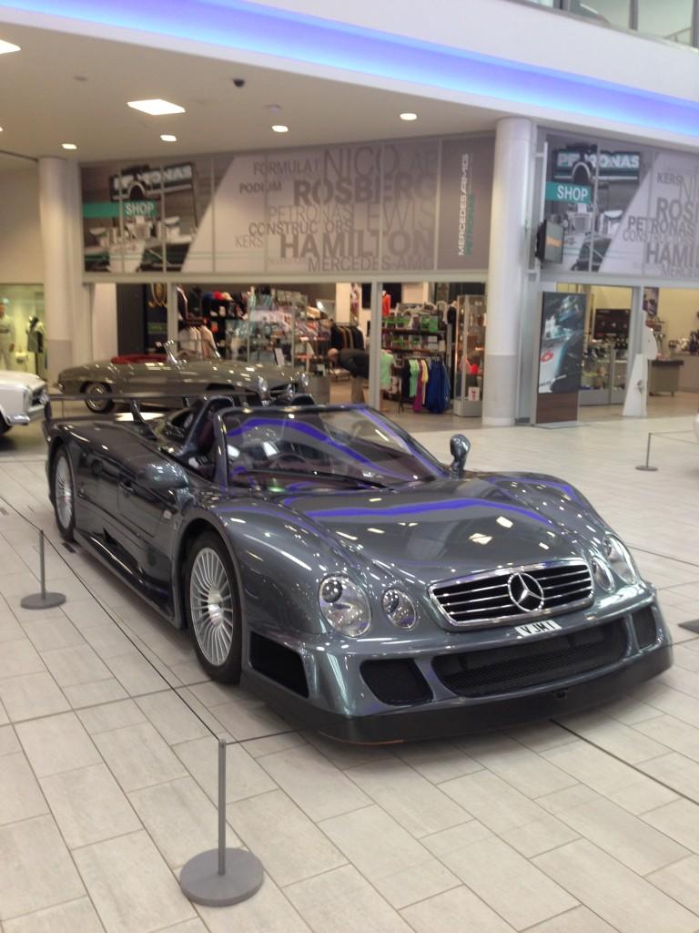The car spotter s tour around mercedes benz world part 1 for Mercedes benz worldwide