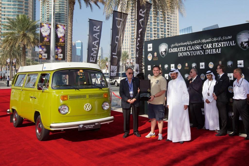 """2014 """"Classic Truck"""" Award Volkswagen Camper Van"""