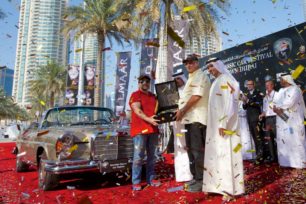 """2014 Best of Show"" Mercedes 280SE"