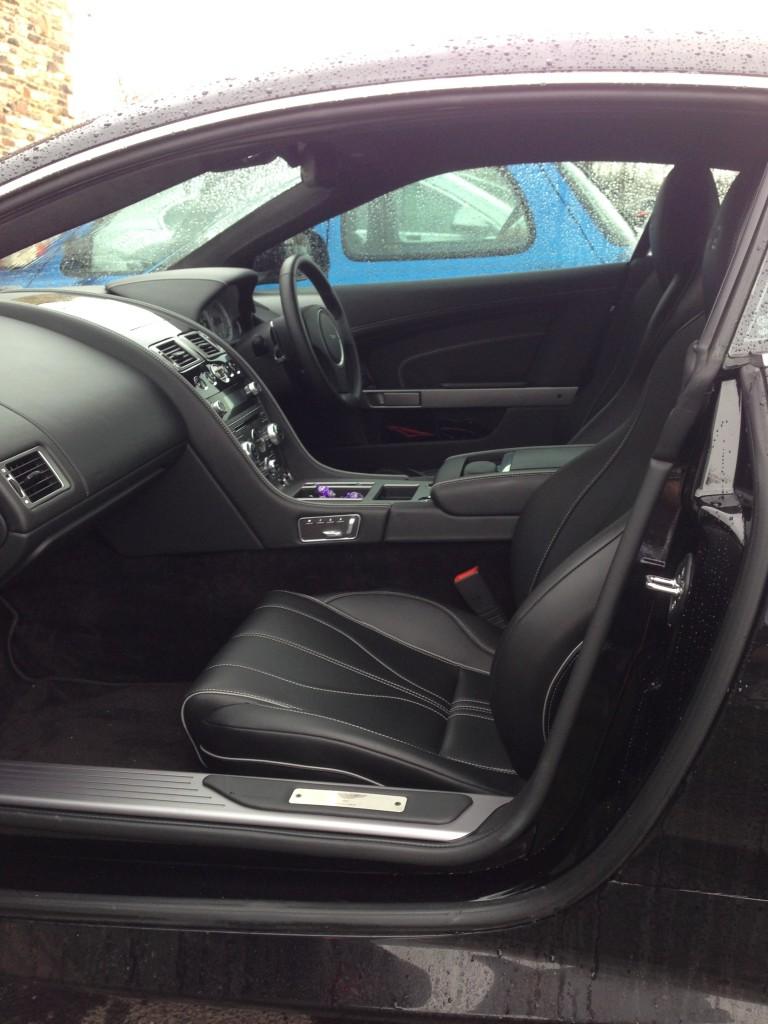 Interior of the Aston Martin DB9