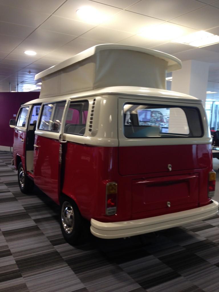Interactive VW Camper Van