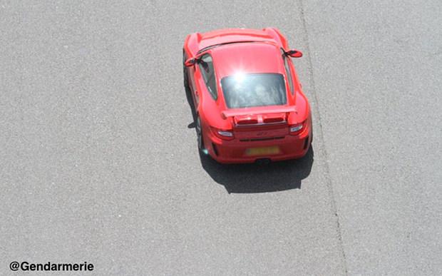 Red Porsche 911 GT3