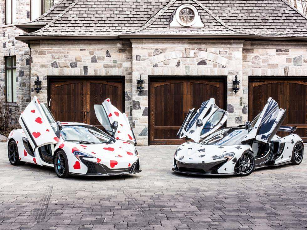 Team: Team Deadmau5 Cars: McLaren 650S and McLaren P1