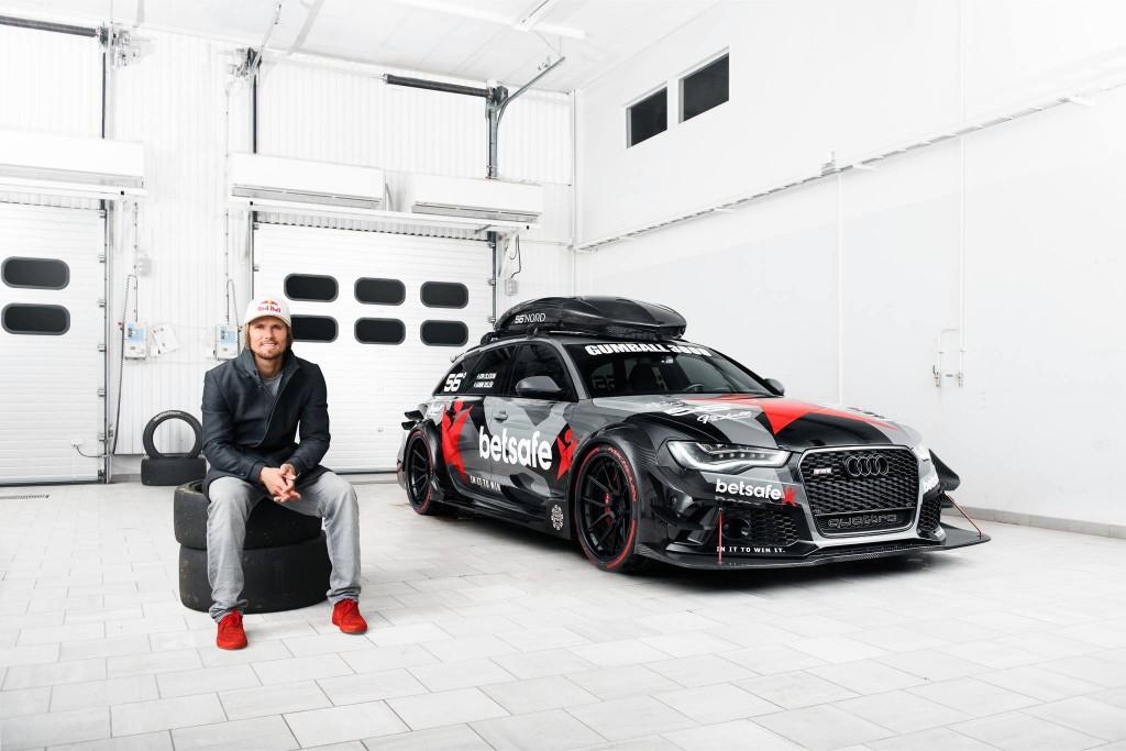 Team: Team Betsafe - Jon Olsson - number 56 Car- Audi RS6