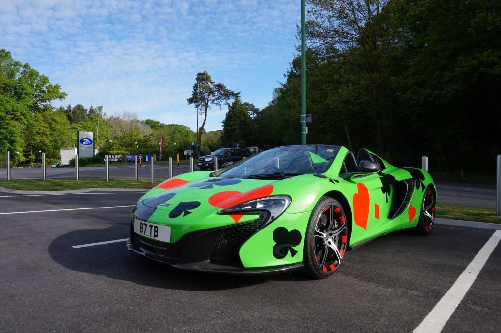 Team: Team Shmee150 Car: McLaren 650S & Range Rover Vogue in EU, Porsche 918 Spyder & support car in US